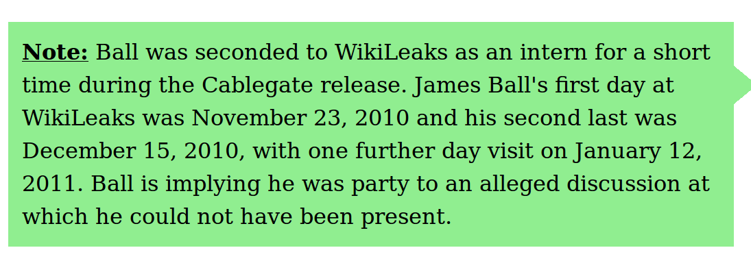 Another Day, Another Two-Bit Smear On Julian Assange